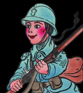 guignol-soldat-guerre-1914-1918