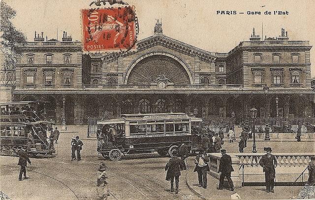 Paris-1914-Gare-de-l'Est