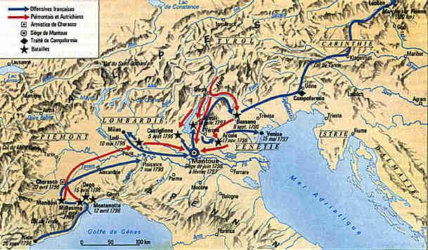 carte-campagne-napoléon-conquete