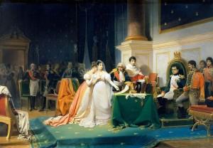 Le_divorce_de_l'Impératrice_Joséphine_15_décembre_1809_(Henri-Frederic_Schopin)
