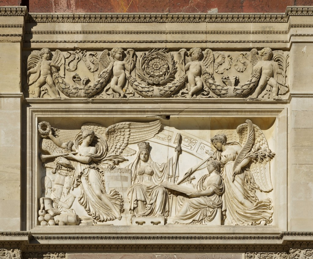 Relief_Traité_Presbourg_arc_Carrousel_Paris