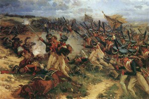 Lejb_Guard_Litov_attack_at_Borodino