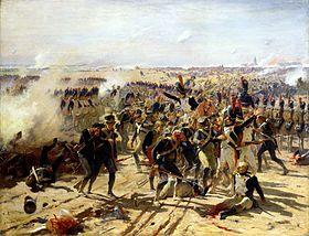 la bataille d'Essling par Fernand Cormon