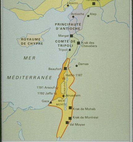 Etats Latins d'Orient