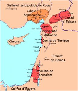 Fondation-des -premiers-Etats-Latins-d'Orient