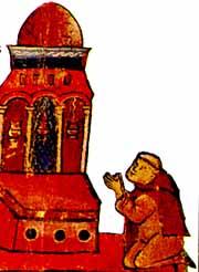 Pierre-l'Ermite-en-prière-devant-le-Saint-Sépulcre