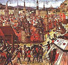Prise de Jérusalem par les Croisés