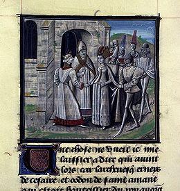 Amaury 1er roi de Jérusalem épouse Marie Comnène