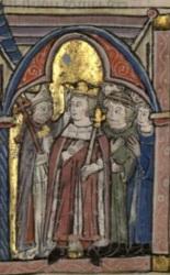 Couronnement de Baudouin IV