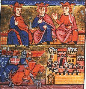 2ème Croisade conseil de guerre de Jérusalem