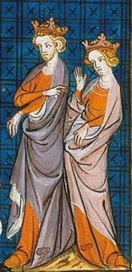 Aliénor dAquitaine et Henri Plantagenêt.