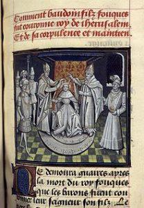Baudouin III est couronné roi de Jérusalem