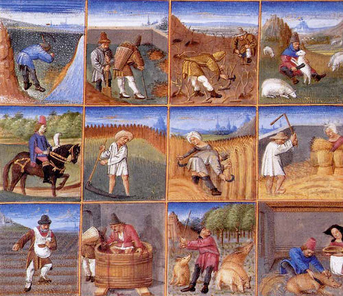 Calendrier Fetes Medievales.Les Jours Feries Au Moyen Age Jean Marie Borghino