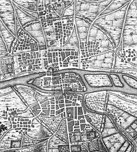 Enceinte Philippe Auguste Paris 1223