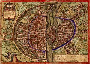 Enceintes de Paris de Philippe Auguste et de Charles V
