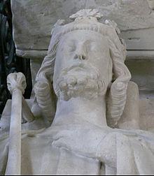 Gisant de Louis VII