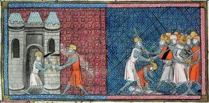 Louis VII et Conrad III