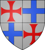 Armoiries de Gilbert de Hérail