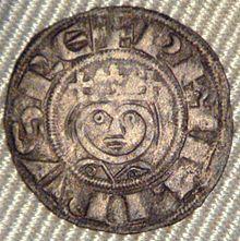 Denier de Philippe II Laon 1180_1201