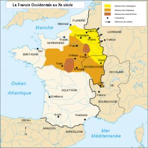 La France au 10 ème siècle