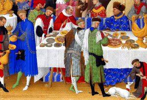 Banquet dans la grande salle