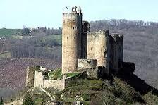 Château de Najac 11ème siècle