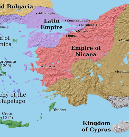 Empire Latin en 1204