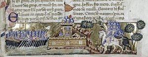 Les Croisés attaquent Constantinople
