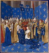 Couronnement de Louis VIII et de Blanche de Castille 1223