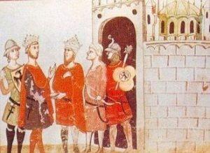 Rétrocession de Jérusalem à Frédéric II par Malik al Kamil