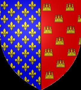 Blason d'Alphonse de Poitiers