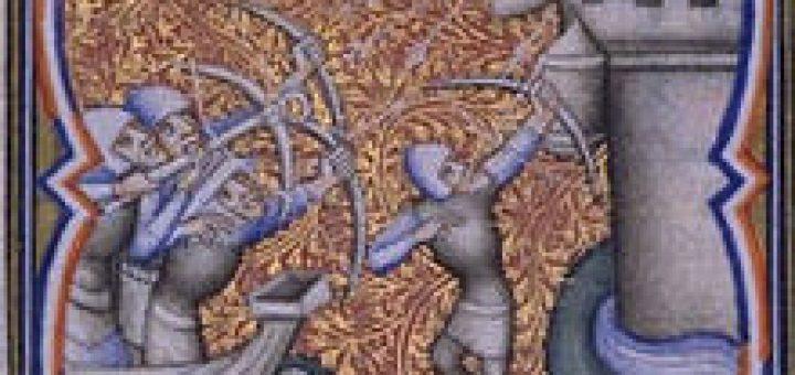 Débarquement des Croisés à Damiette 1249