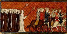 Départ de Saint-Louis pour la Croisade