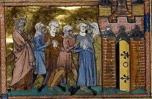 Louis IX fait prisonnier