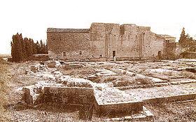 Ruines de l'abbaye de Psalmody