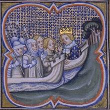 Départ de la Huitième Croisade