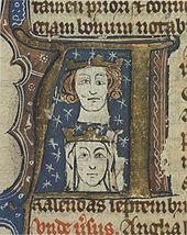 Edouard 1er et sa femme Eléonore de Castille