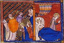 Mariage de Louis et de Marguerite de Provence
