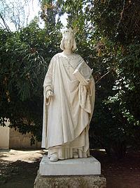 Statue Louis IX