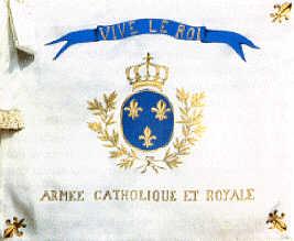 Drapeau de l'Armée Catholique et Royale de Vendée