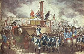 Exécution de Louis XVI 21 janvier 1793