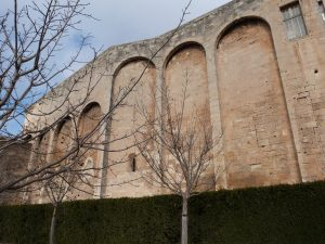 Le mur fortifié