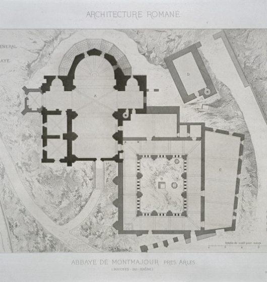 «Abbaye de Montmajour près Arles»