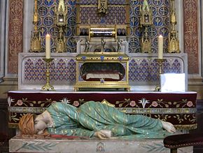 Sainte-Cécile d'Albi reliques et statue