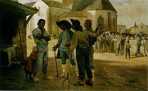Cathelineau sollicité par les Vendéens pour être leur chef