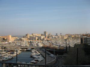 Vieux Port de Marseille vu de l'Abbaye