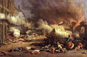 Prise du palais des Tuileries