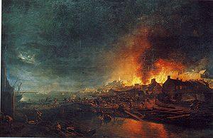 Incendie de  Granville 1793