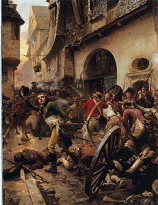 La Rochejacquelein à la bataille de Cholet