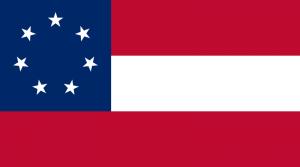 Drapeau- confédéré- de -mars -à -mai- 1861